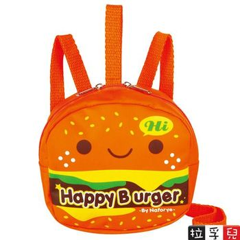 幼兒防走失安全背包 漢堡