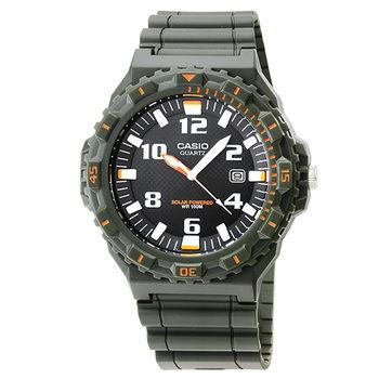 CASIO 卡西歐光動能運動錶-橘 / MRW-S300H-3B