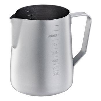 Tiamo 不沾塗層厚款刻度指示拉花杯950ml-HC7088GY