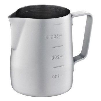 Tiamo-不沾塗層厚款刻度指示拉花杯360ml-HC7086GR