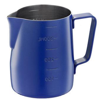 Tiamo-不沾塗層厚款刻度指示拉花杯360ml-HC7086BU