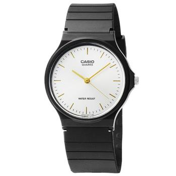 CASIO 卡西歐薄型石英錶-銀 / MQ-24-7E2