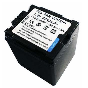 Panasonic VW-VBG260 2640mAh 相機電池