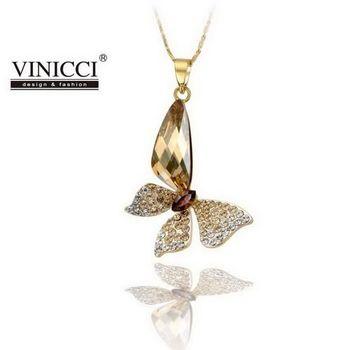 VINICCI「香榭蝶舞」水晶項鍊
