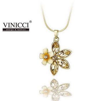 VINICCI「花語」水晶項鍊