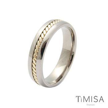 【TiMISA】鎖住愛情  純鈦戒指