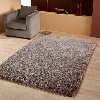 范登伯格 蘭沐超柔軟長毛地毯 深咖-140x200cm