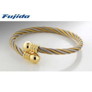 Fujida 扭轉乾坤鋼索健康手環