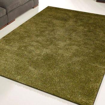 范登伯格 璀璨四季雙色紗長毛地毯-綠-160x230cm