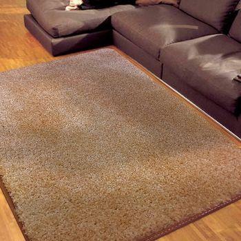 范登伯格 蘭沐超柔軟長毛地毯 淺棕-140x200cm