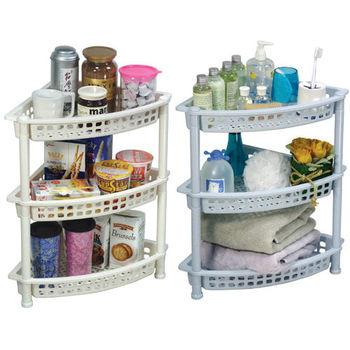 三多麗三層置物架,置物盒,儲物盒,收納盒,收納箱