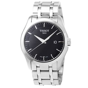 TISSOT 天梭T-Trend石英腕錶-黑 / T0354101105100