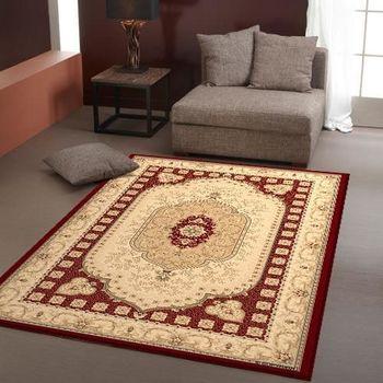范登伯格 百嘉莉歐式宮庭仿羊毛地毯-霞關(紅)-170x230cm