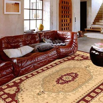 范登伯格 百嘉莉歐式宮庭仿羊毛地毯-霞關(紅)-200x290cm