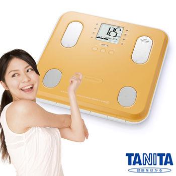 日本TANITA九合一體組成計(體脂計)BC565-橘