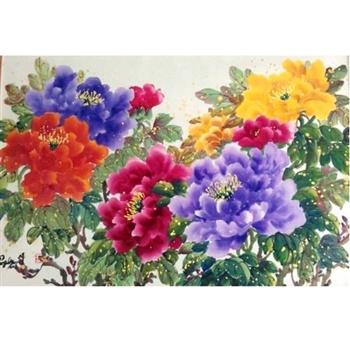 國際花卉博士劉坪雍容華貴