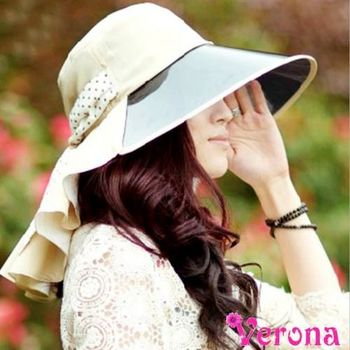 【Verona】韓版PVC防紫外線全方位遮陽帽(四色可選)