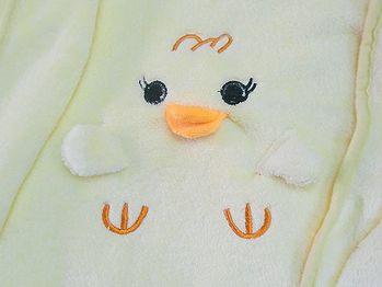 黃色小鴨可愛造型毯/嬰兒蓋毯/午睡毯/冷氣毯