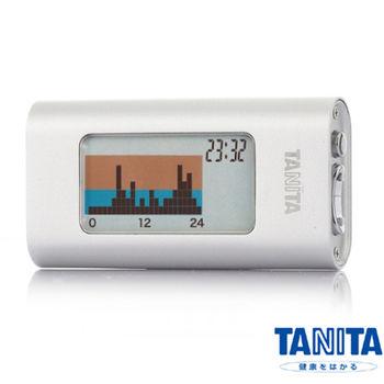 日本TANITA三軸感應活動量計(計步器)AM121E-銀色