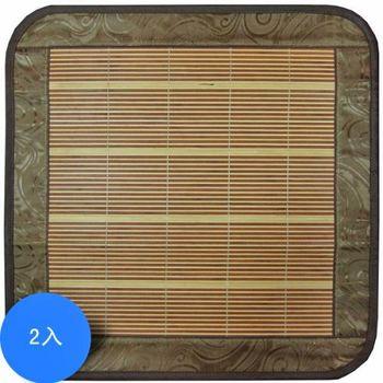 范登伯格 翠竹精製坐墊-兩入組-50x50cm