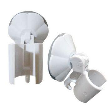 蓮蓬頭架 吸盤式掛座 固定座 台灣製 多用途吸盤式蓮蓬頭固定座