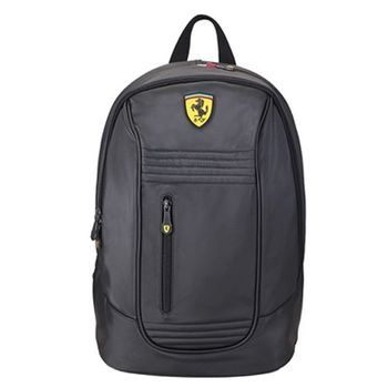 Ferrari 法拉利 後背包TF013A-黑色