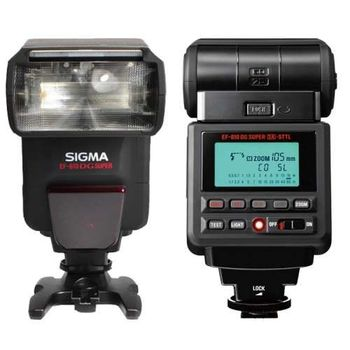 SIGMA EF-610 DG SUPER 旗艦級閃光燈 GN值61 (公司貨)【送豪華五合一清潔組+雙頭拭鏡筆+單眼攝影相機包+SANYO 3號電池2卡8入】