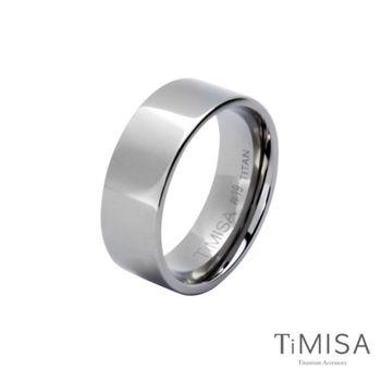 【TiMISA】簡約時尚 純鈦戒指