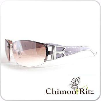 【Chimon Ritz】典雅心情水銀鏡片太陽眼鏡 (粉紫色)