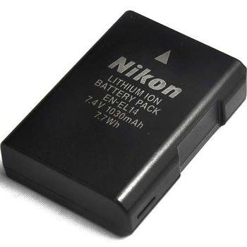 Nikon EN-EL14 原廠 電池 (密封包裝) 贈WD配件包