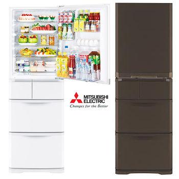 ★回函贈好禮★『MITSUBISHI』☆三菱  420公升日製五門變頻電冰箱 MR-B42T
