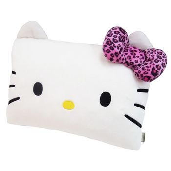 【享夢城堡】HELLO KITTY 豹紋系列-小抱枕