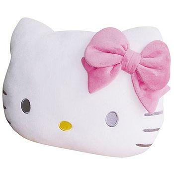 【享夢城堡】HELLO KITTY 頭型抱枕