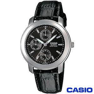 【CASIO卡西歐】經典時尚指針皮帶男錶 MTP-1192E-1A
