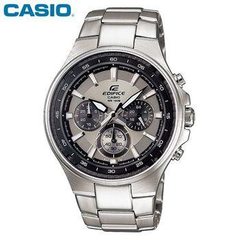 【CASIO】 EDIFICE碳纖魅力品味三眼賽車錶EF-562D-7A