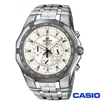 CASIO卡西歐 EDIFICE系列極限三眼計時賽車錶 EF-540D-7A