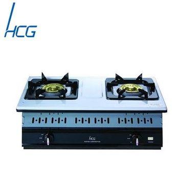 【和成】GS252Q嵌入式雙環瓦斯爐(琺瑯白)