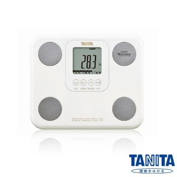 日本TANITA七合一羽量輕巧體組成計(體脂計)BC751-珍珠白