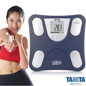日本TANITA四合一體組成計(體脂計)BC753-海軍藍