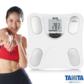 日本TANITA四合一體組成計(體脂計)BC753-珍珠白