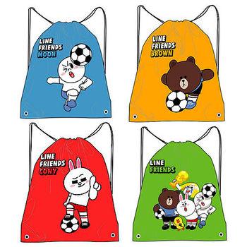 【LINE】足球系列束口後背包束口袋束口帶(五款可選)