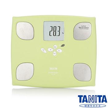 日本TANITA十合一女性減重模式體組成計(體脂計)BC750-蘋果綠