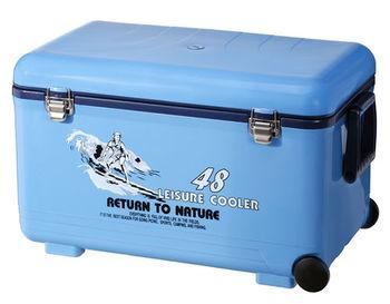 廣體大型 48L休閒冰箱 冰桶 附輪 TH-485 台灣製