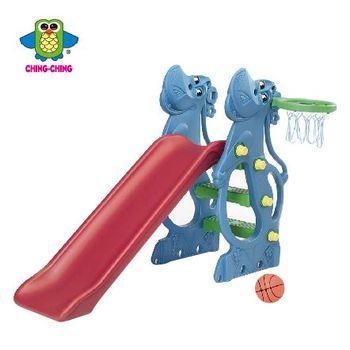 親親【ChingChing】- 河馬溜滑梯 環保二次料 藍