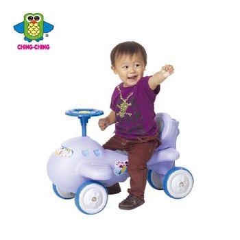 親親【ChingChing】- 飛機學步車(藍、粉)