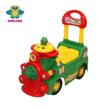親親【ChingChing】- 火車學步車(綠)