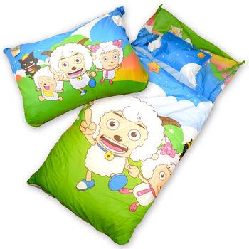 【Sunnybaby生活館】- 卡通造型幼教兒童睡袋(喜羊羊向前跑)
