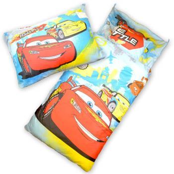 【Sunnybaby生活館】- 卡通造型幼教兒童睡袋(閃電麥坤)