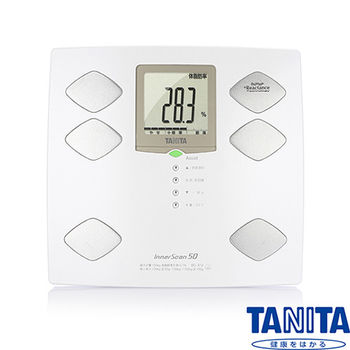 TANITA九合一體組成計(體脂計)嬰兒寵物功能BC312(日本製)-珍珠白