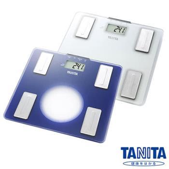 日本TANITA超薄強化玻璃體脂計UM-040-雲霧白